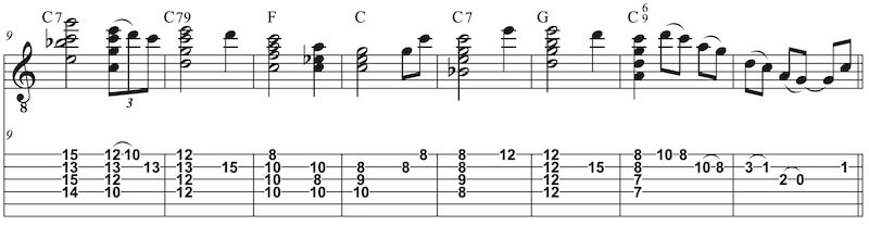 Amazing grace Gitarre Instrumental