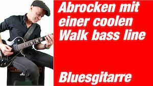 Boogie spielen auf der Gitarre | Bluesgitarre lernen | in 3 Schritten | Walking bass Gitarre