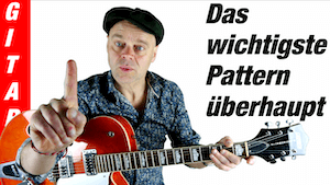 Dur Tonleiter Gitarre lernen | Harmonielehre für Gitarre | super einfaches Dur-Pattern in 4 Schritten