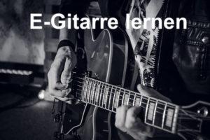 E-Gitarre lernen online