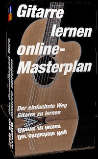 Gitarre lernen online Masterplan