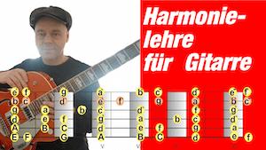 Aufbau der Gitarre | Griffbrettkunde