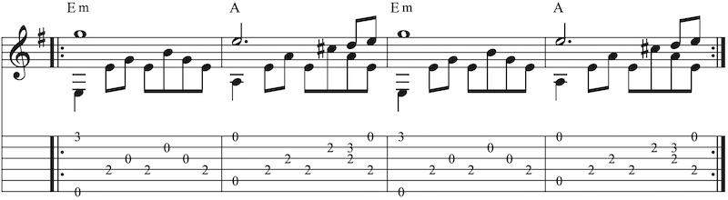 Akkorde zu Melodien finden