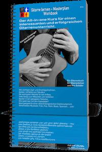 Gitarre lernen Masterplan Arbeitsbuch